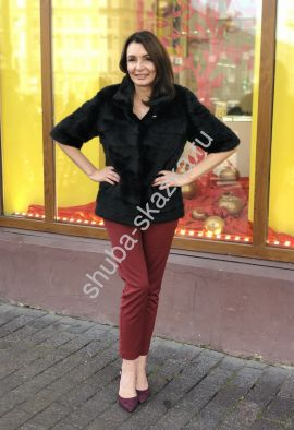 Куртка/полушубок из меха норки Серена