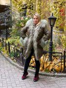 Пальто на утеплителе с отделкой из меха ламы по СУПЕР ЦЕНЕ