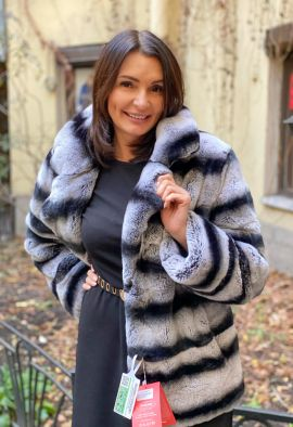 Куртка из меха Rex rabbit