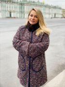 Двустороннее пальто (норка, французская шерсть)